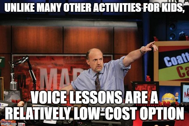 Voice lessons low-cost