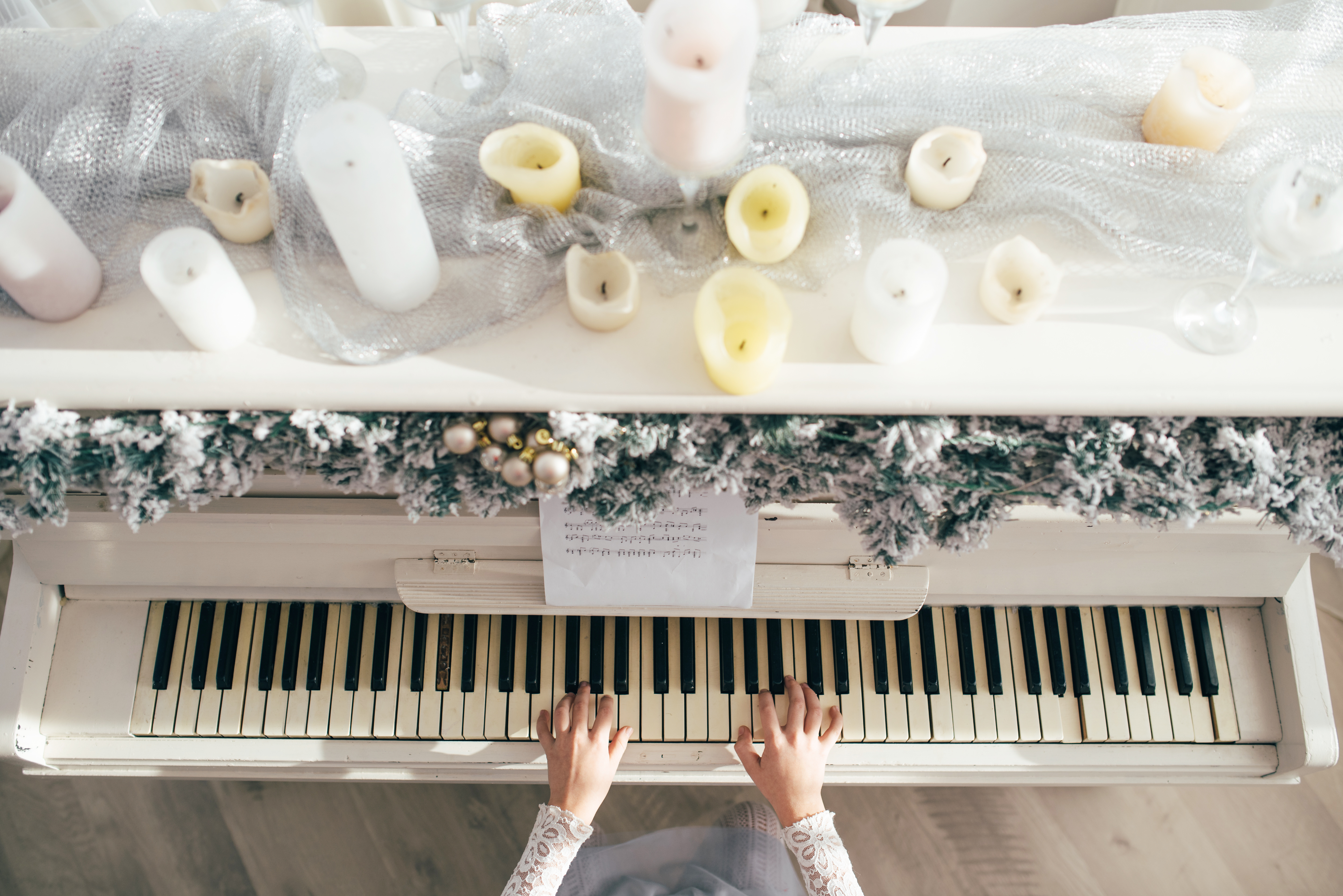 Stay in, avoid the cold, and take piano lessons